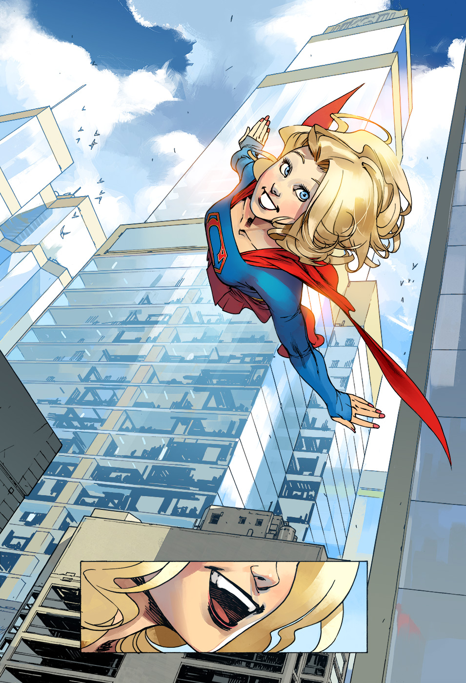 Supergirl digitalcomic anteprima